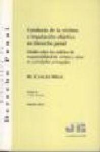 Conducta de la victima e imputacion objetiva en derecho pena
