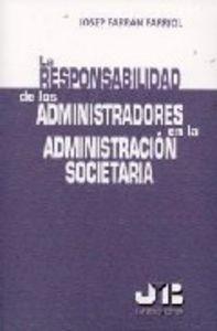 Responsabilidad de los administradores en la administracion