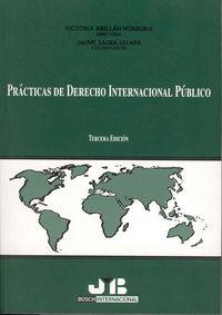 Practicas de derecho internacional publico.