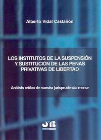 Institutos de la suspension y sustitucion de las penas priva