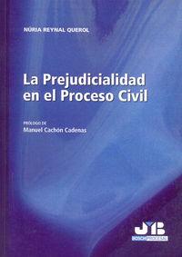 Prejudicialidad en el proceso civil.,la