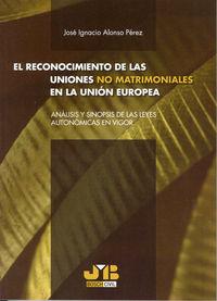 Reconocimiento de las uniones no matrimoniales en la union e