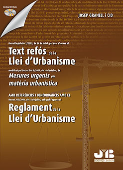Text refos de la llei d'urbanisme. (inclou cd-rom)