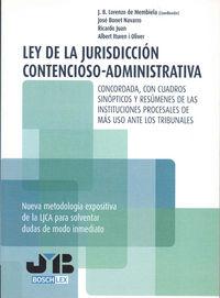 Ley de la jurisdiccion contencioso-administrativa.