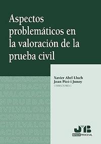 Aspectos problematicos en la valoracion de la prueba civil.