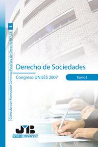 Derecho de sociedades.  tomo i