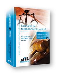 Prueba de reconocimiento judicial.,la