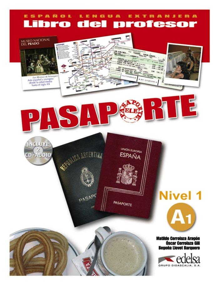 Pasaporte a1 profesor +cd