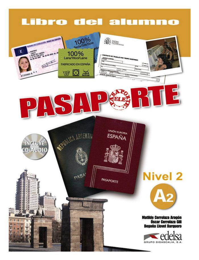 Pasaporte ele 2 a2 alumno +cd