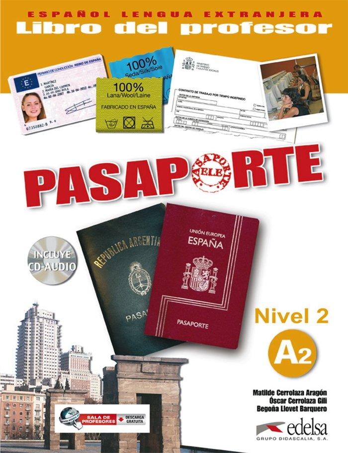 Pasaporte nivel 2 a2 profesor