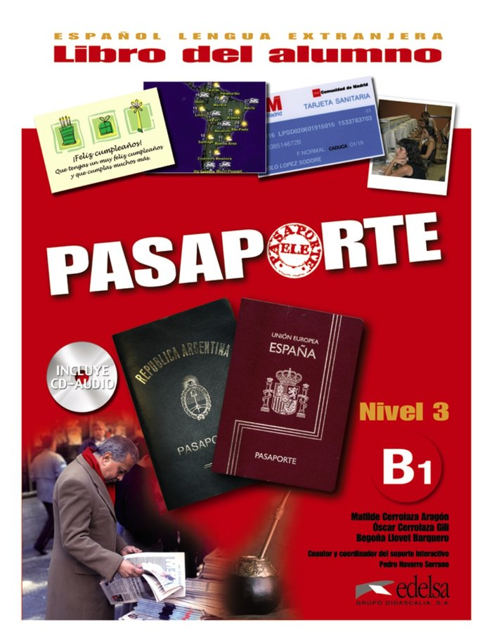 Pasaporte nivel 3 b1 alumno+cd