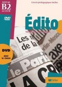 Edito b2 dvd guide pedagogique