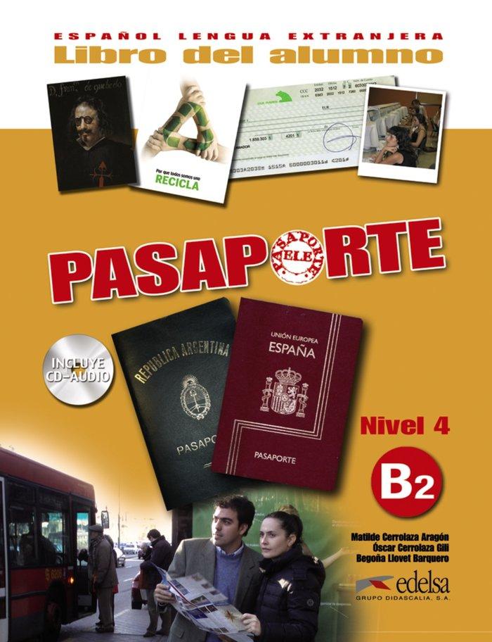 Pasaporte b2 libro+cd