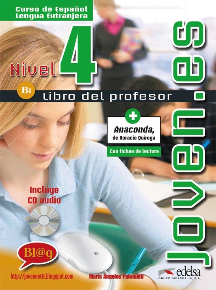 Joven.es 4 profesor+cd b1