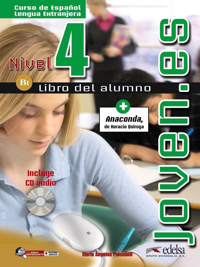 Joven.es 4 alumno+cd b1