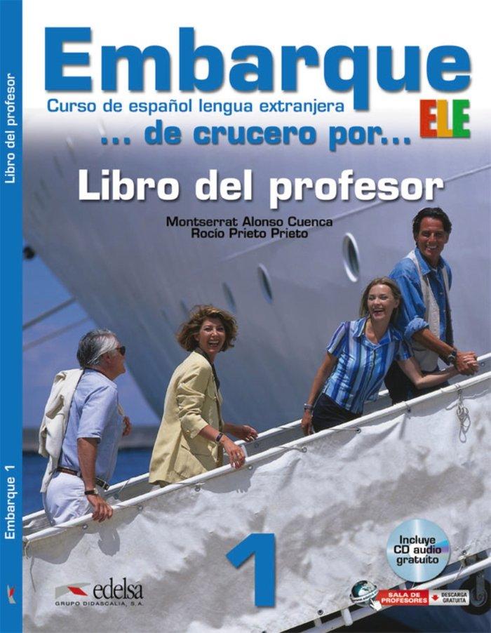 Embarque 1(profesor+cd)curso español lengua extranjera 2012