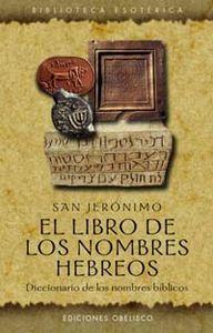 Libro de los nombres hebreos, el