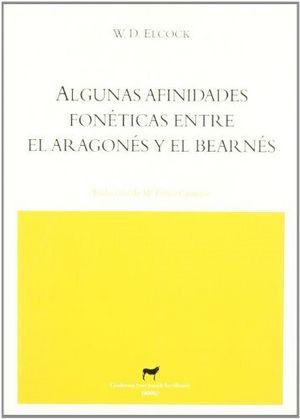Algunas afinidades foneticas entre el aragones y el bearnes