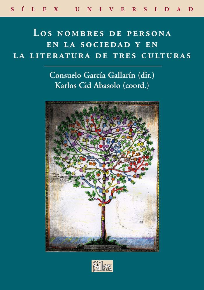 Nombres de persona en la sociedad y literatura de tres cultu