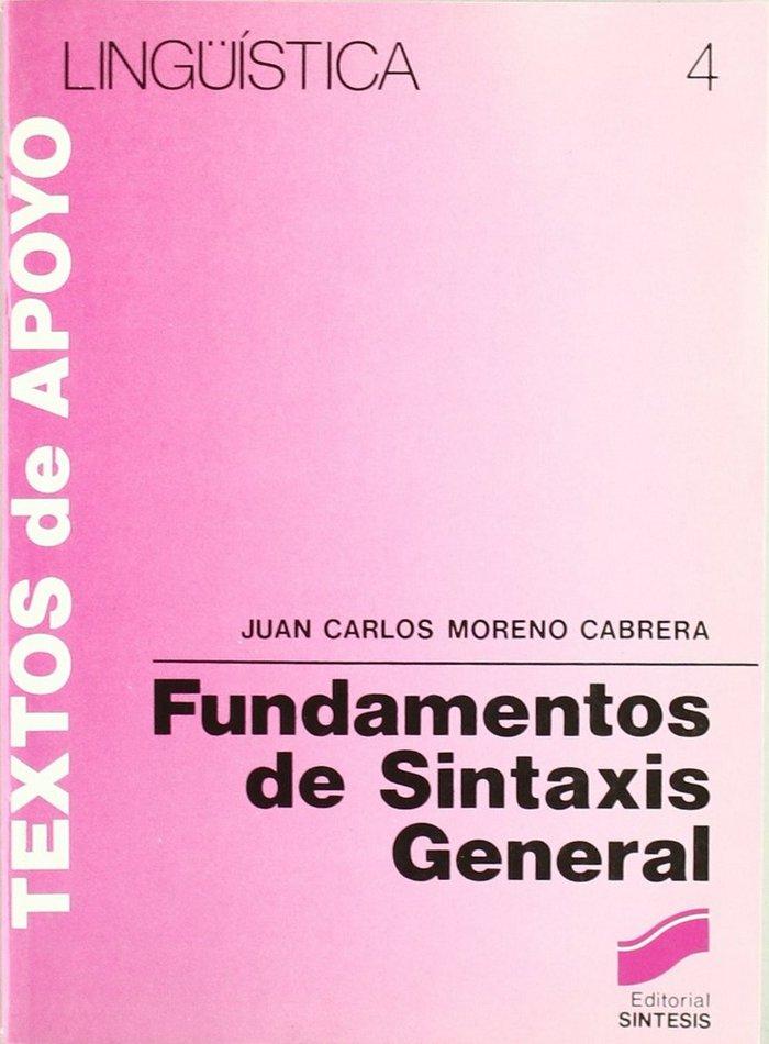 Fundamentos sintaxis general