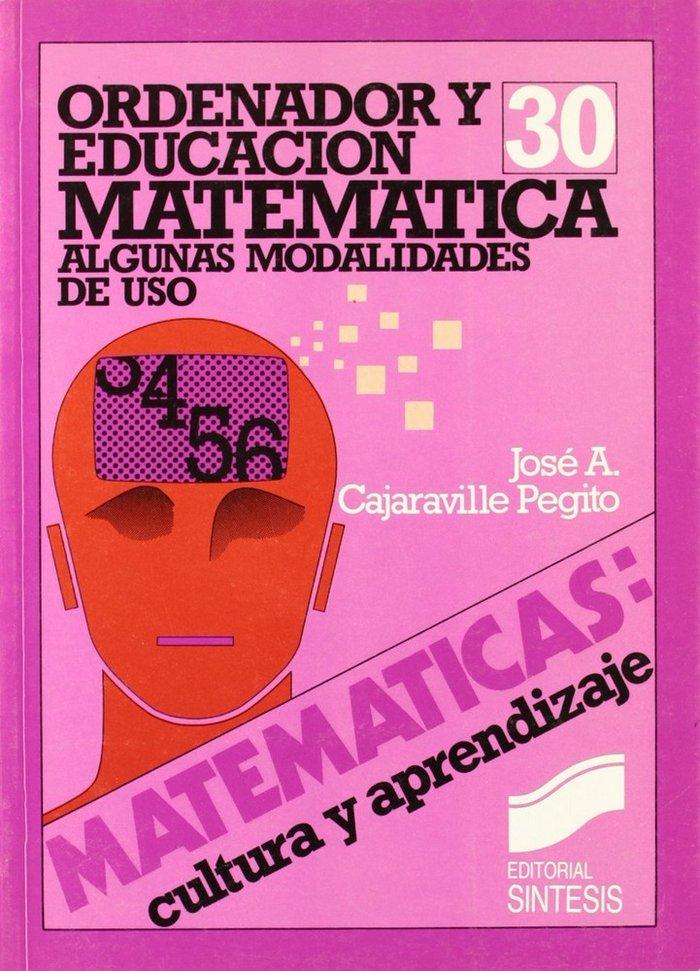 Ordenador y educacion matematica