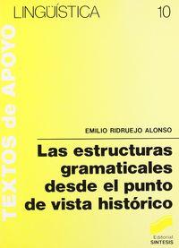 Estructuras gramaticales punto vista hco