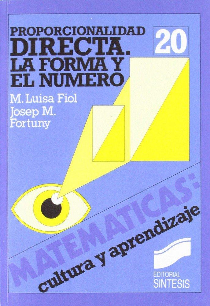 Proporcionalidad directa forma y numero