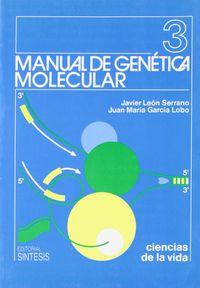Manual genetica molecular