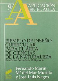 Ejemplo diseño c.area c.naturaleza