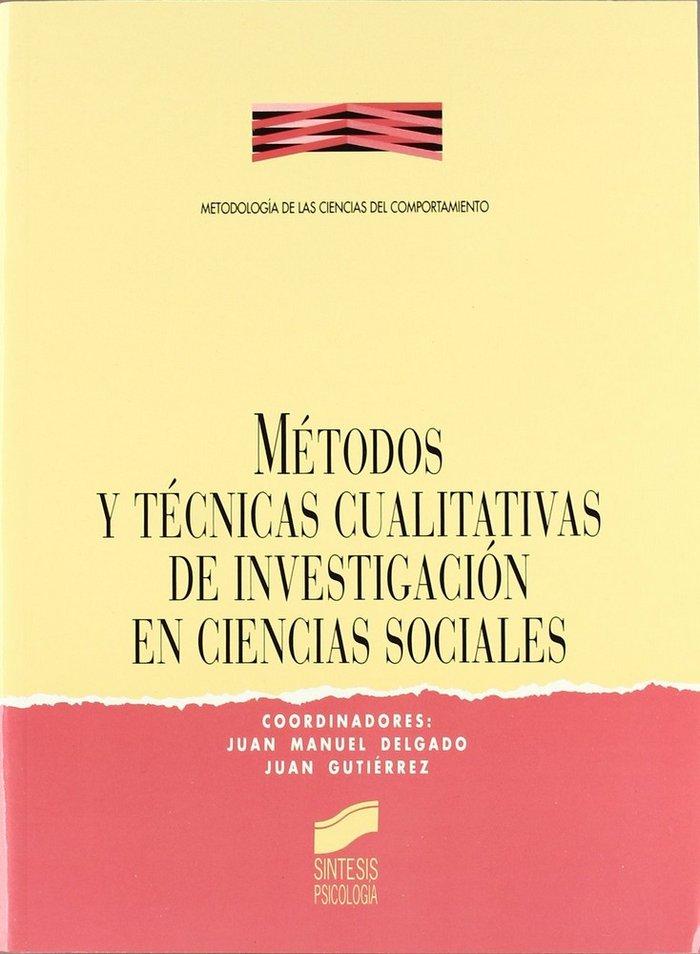 Metodos y tecnicas cualitativas cc