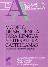 Modelo secuencia para lengua lite.castellanas