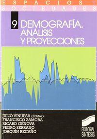 Demografia analisis proyectos