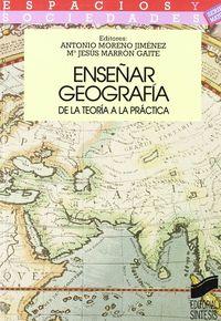 Enseñar geografia