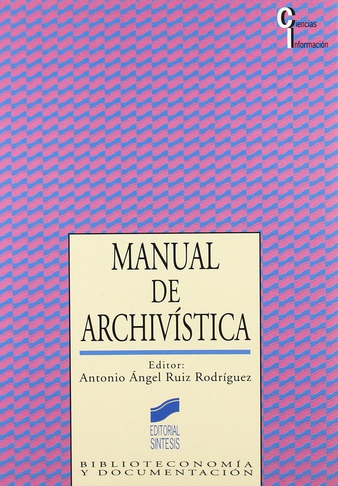 Manual de archivistica