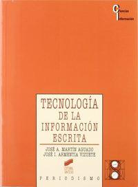 Tecnologia informacion escrita