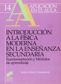 Int.fisica moderna enseñan.secundaria