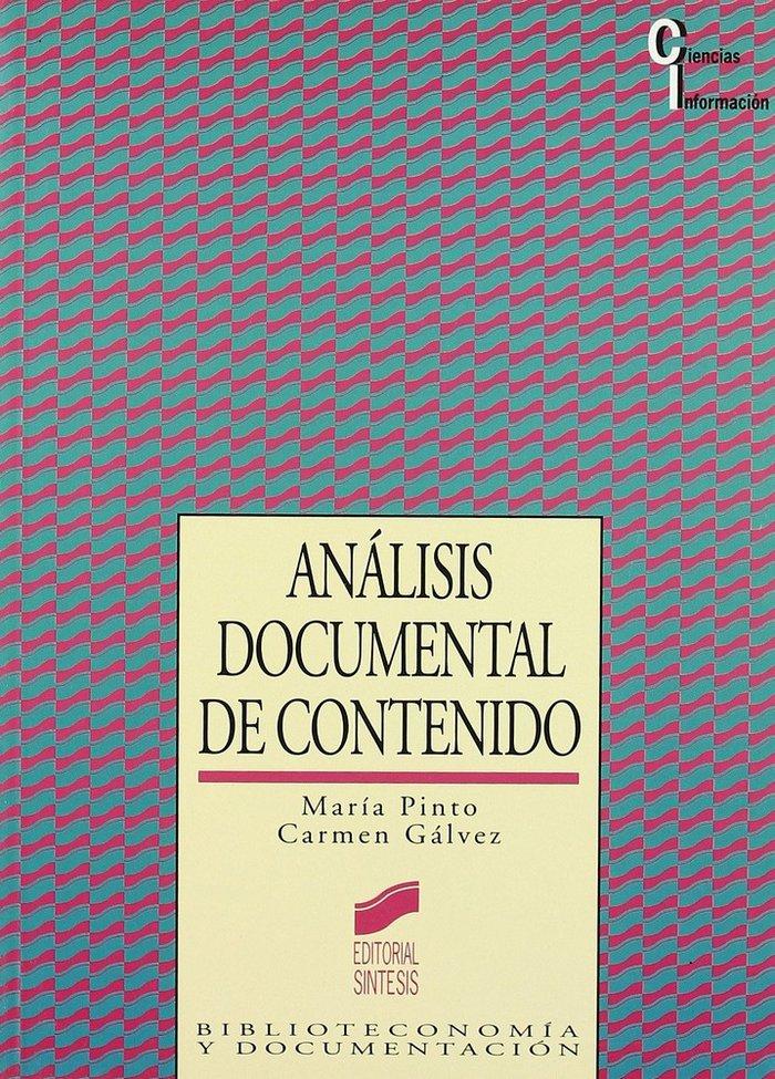 Analisis documental contenido