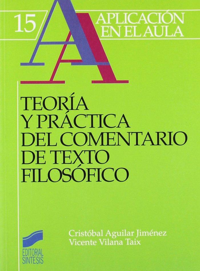 Teoria practica coment.texto filosofico