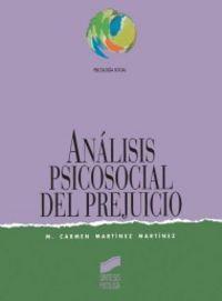 Analisis sicosocial prejuicio