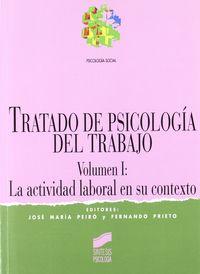Tratado sicologia trabajo vol.i