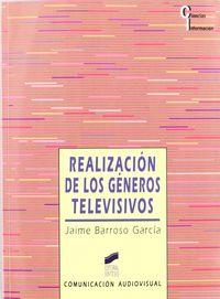 Realizacion generos televisivos