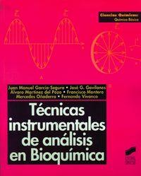 Tecnicas instrumentales anal.bioquimica