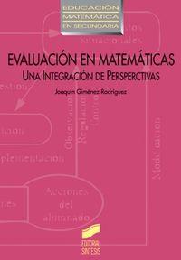 Evaluacion en matematicas
