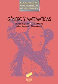 Genero y matematicas