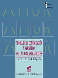 Teoria comunicacion gestion organizaciones