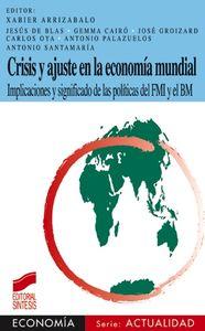 Crisis y ajuste economia mundial