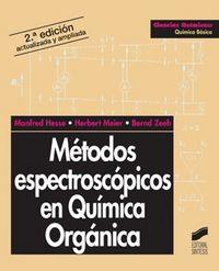 Metodos espectropicos en quimica organica