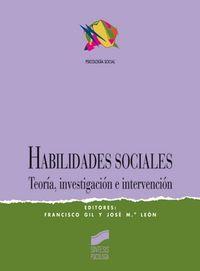 Habilidades sociales teoria invest.intervencion