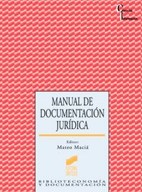 Manual documentacion juridica