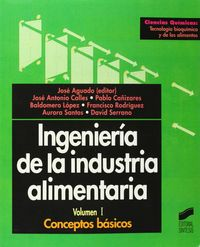 Ingenieria industria alimentaria vol i
